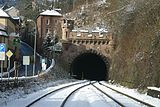 East portal of the Kyllburger tunnel