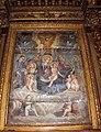 Ottaviano nelli e bottega, madonna col bambino, angeli, santi e anime del purgatorio, 1430-40 circa, poi ritoccato nel 1647 circa 02.JPG
