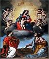 Ottavio Vannini, Madonna col Bambino in gloria tra i Ss. Lorenzo e Cecilia, 1630-1640 circa.jpg