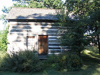 Lake County, Illinois - The Caspar Ott Cabin, built in 1837, is the oldest structure in Lake County.