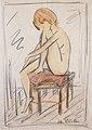 Otto Mueller - Sitzendes Mädchen - ca1918.jpeg