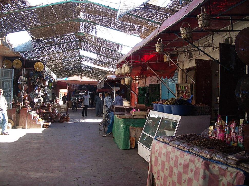 Ouarzazate souk