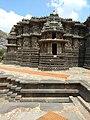 Outside view of Hoysaleshwara temple, Halebid, KA, India.jpg