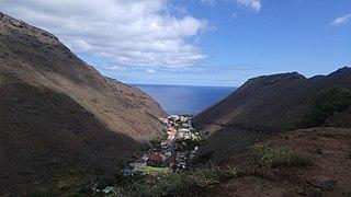 Jamestown, Saint Helena Capital and chief port of Saint Helena