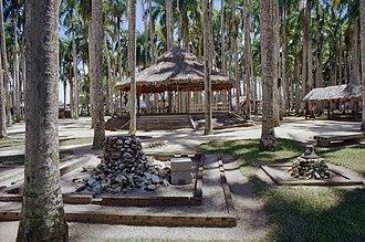 Garden of Palms - Image: Overzicht van de palmentuin Paramaribo 20417693 RCE