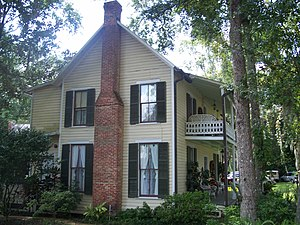 National Register of Historic Places listings in Seminole County, Florida - Image: Oviedo Browne King House 01