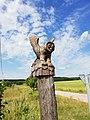 Owl sculpture in Berezinsky Biosphere Reserve.jpg