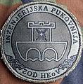 Croatian army isaf patch