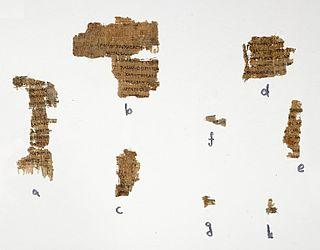 Papyrus Rylands 458