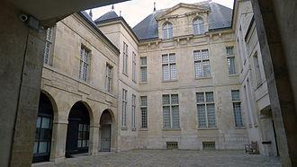 Musée Cognacq-Jay - Vue sur cour de l'Hôtel de Donon