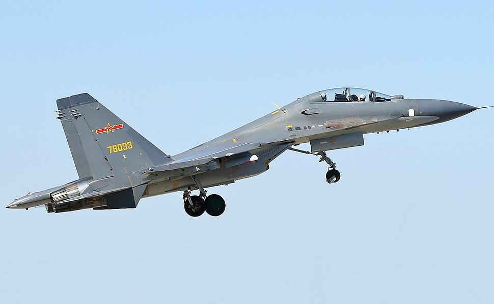 PLAAF Sukhoi Su-30 at Lipetsk-2 (modified)