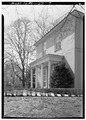 PORCH, EAST SIDE, LOOKING SOUTHWEST - Solitude, Zoo grounds, Philadelphia, Philadelphia County, PA HABS PA,51-PHILA,30-9.tif