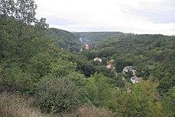 Pohled na Dolní Šárku z PP Baba