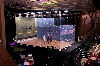 Kuwait PSA Cup - Glass Court of the Kuwait Open