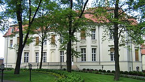 University of Łódź - Alfred Biedermann's Palace, seat of the Institute of Contemporary Culture, University of Lodz