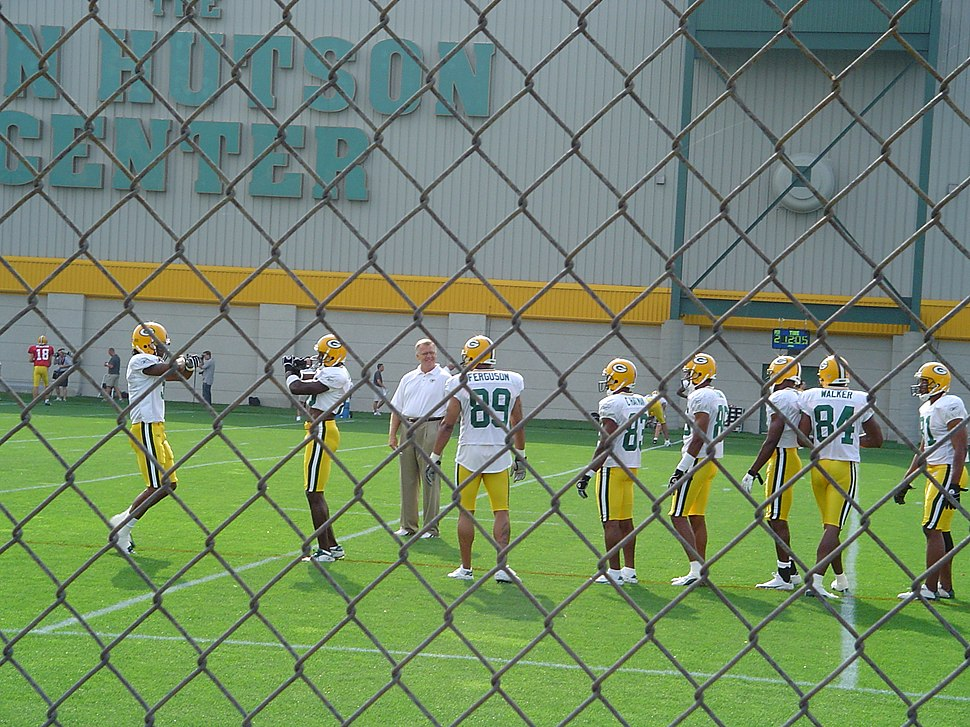Packers wide receivers training camp 2004