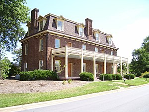 Cary, North Carolina - Page-Walker Hotel (now local history museum).