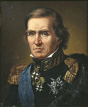 Baltzar von Platen (statesman) - Image: Painting of Baltzar von Platen (1766 1829)