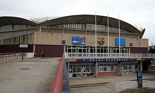 Sporting arena in Barcelona
