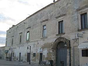 Merine (Lizzanello) - Baronial palace Palmieri-Magliola