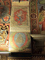 Palazzo comunale di s. miniato, sala delle sette virtù, stemma bartolini e ridolfi.JPG