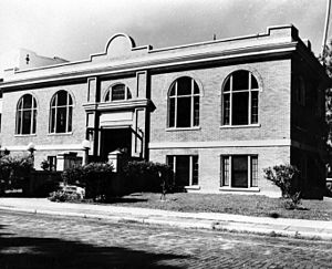 Manatee County, Florida - Palmetto's Carnegie Library, built in 1914.