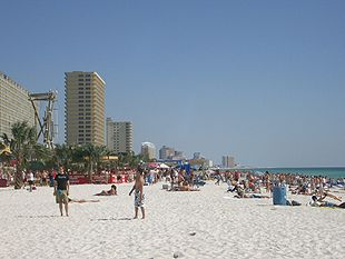 Spring break at Panama City Beach, Florida, Florida