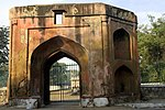 The Punjabi gate in the Roshanara Bagh