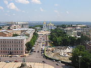 Panorama of Kyiv from Saint Sophia Monastery 5.jpg