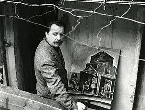 Franco Gentilini - Franco Gentilini in 1965 photographed by Paolo Monti.