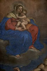 The Virgin and Child appearing to Saint Jerome