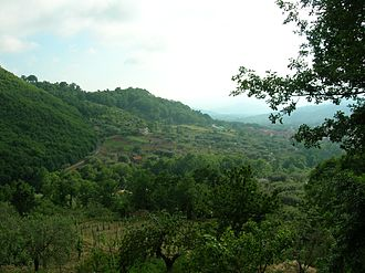 Cilento - National Park nearby Cannalonga
