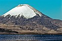 Parinacota volcano chungara lake cl.jpg