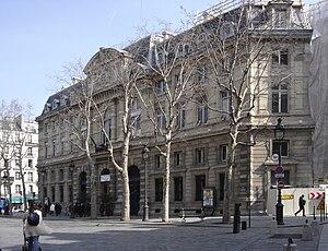 Antoine-Nicolas Bailly - Hall of 4th arrondissement of Paris, 1866