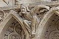 Paris - Cathédrale Notre-Dame - Portail de la Vierge - PA00086250 - 029.jpg