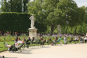 Lucius Quinctius Cincinnatus - The statue of Cincinnatus in Paris's Tuileries Garden