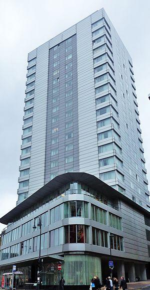 Park Plaza Hotel Leeds - Image: Park Plaza Hotel, Leeds 2014