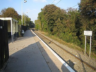 Park Street, Hertfordshire - Image: Park Street Railway Station