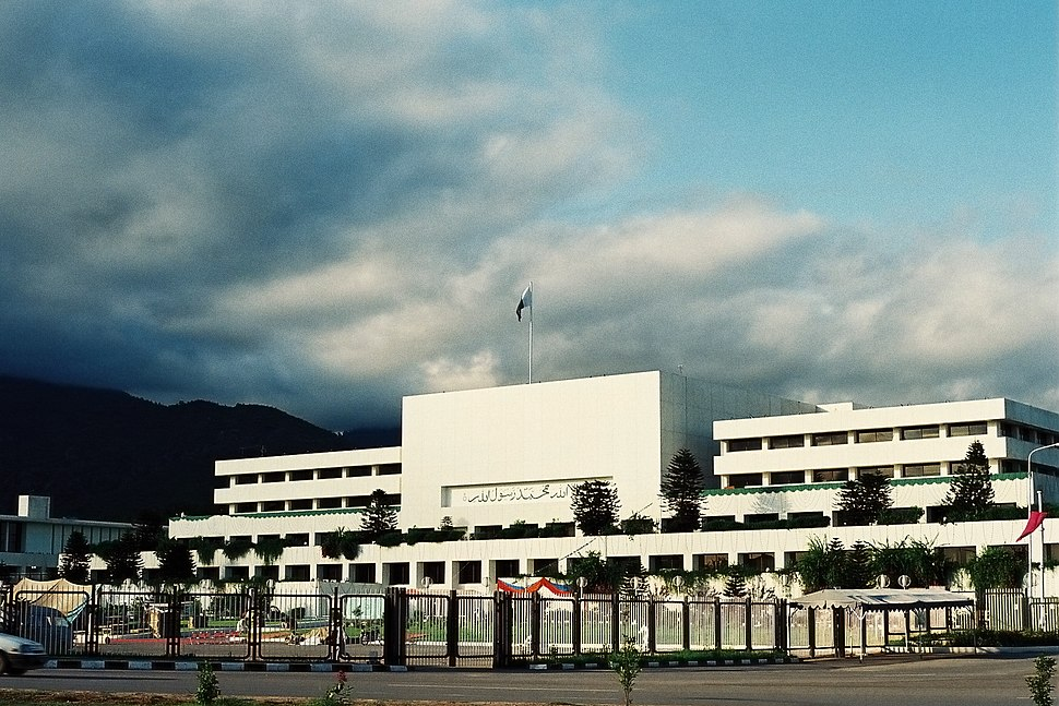 Parliament House, Islamabad by Usman Ghani