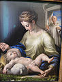 Parmigianino, madonna col bambino e un certosino 03.JPG