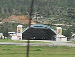 Paro Airport from outside the fence, July 2016 04.jpg