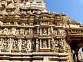 Parshwanath Temple Eastern Group of Temples Khajuraho India - panoramio (4).jpg