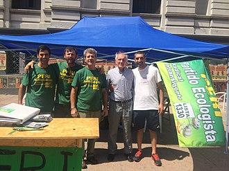 Partido Ecologista Radical Intransigente - Image: Partido Ecologista Radical Intransigente 2014