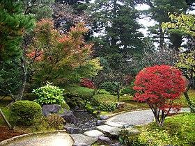 Pasaje Kenrokuen Kanazawa Japon.JPG