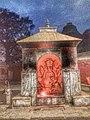 Pashupatinath Mandir Statue 01.jpg