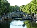Passerelle Alibert & Pont tournant de la rue Dieu, Canal Saint-Martin, Paris 2011.jpg