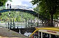 Passerelle Bichat, Canal Saint Martin, Paris 29 May 2014.jpg