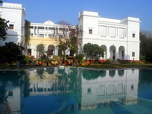 Pataudi State - View of Pataudi Palace.
