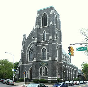 Bergen Hill, Jersey City - St Patrick's at Grand St