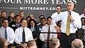 Paul Ryan's brother, Tobin Ryan, addresses the crowd at Carroll University in Waukesha. (8091044328).jpg